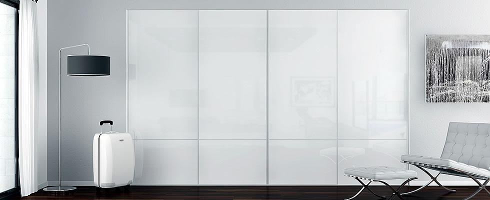 Armarios con vidrio - Como hacer un armario con puertas correderas ...