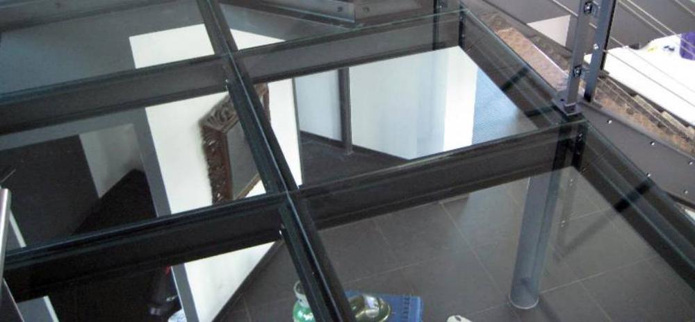 Baldosa pisable vidrio - Suelos de cristal ...