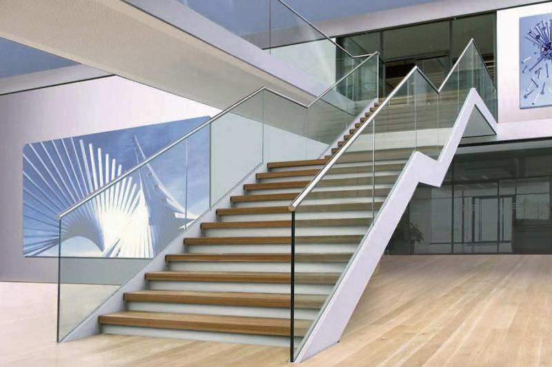 Barandillas de cristal - Escaleras de cristal y madera ...