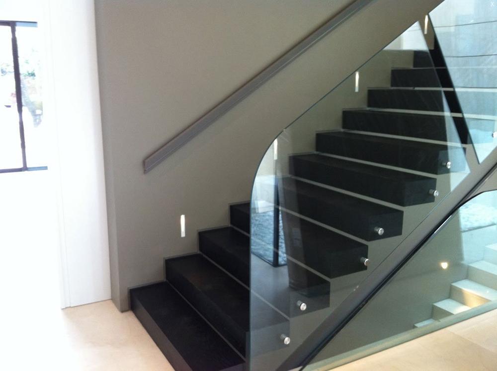 Barandillas de cristal - Escaleras de vidrio ...