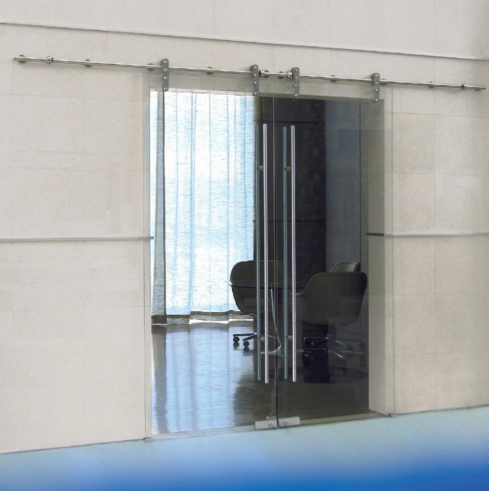Puertas correderas de vidrio - Puertas correderas de vidrio templado ...